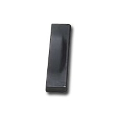 Schaub and Company Italian Designs Aria 5-1/16 Inch Center to Center Matte Black Cabinet Pull 239-MB