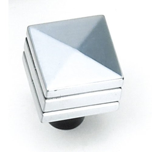 Laurey Hardware Kama 7/8 Inch Diameter Antique Silver Cabinet Knob 23260