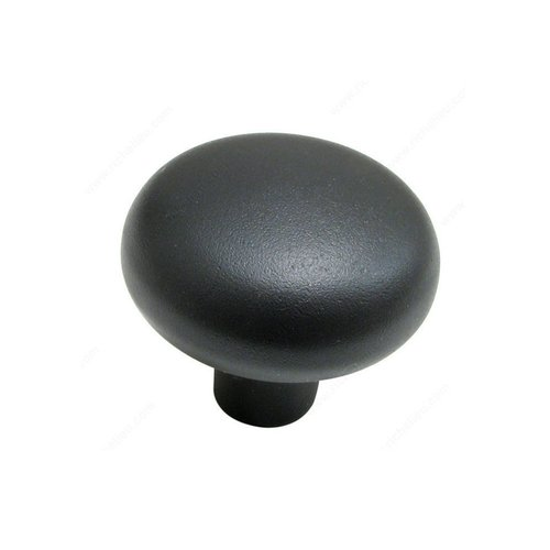 Traditional Bronze 1-5/8 Inch Diameter Bronze Pewter Bronze Cabinet Knob <small>(#19942PB)</small>