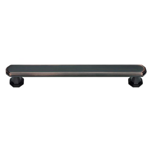 Dickinson 6-5/16 Inch Center to Center Venetian Bronze Cabinet Pull <small>(#321-VB)</small>