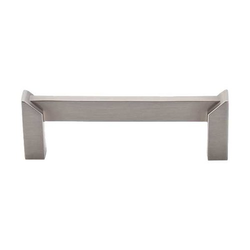 Top Knobs Sanctuary II 3-1/2 Inch Center to Center Brushed Satin Nickel Cabinet Pull TK235BSN