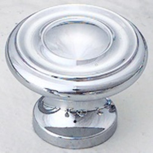 Schaub and Company Colonial 1-1/4 Inch Diameter Polished Chrome Cabinet Knob 703-26