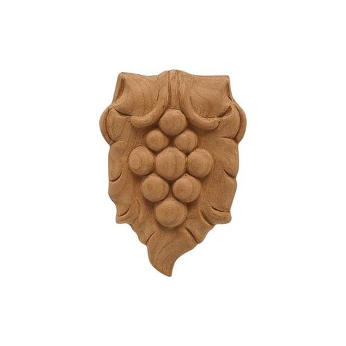 Hafele Bordeaux Carved Onlay 2-5/16 inch x 3-1/2 inch Cherry 194.78.663