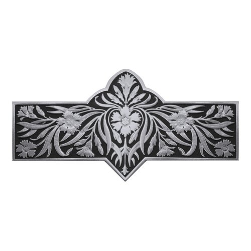 Notting Hill English Garden 3 Inch Center to Center Brilliant Pewter Cabinet Pull NHP-678-BP-D
