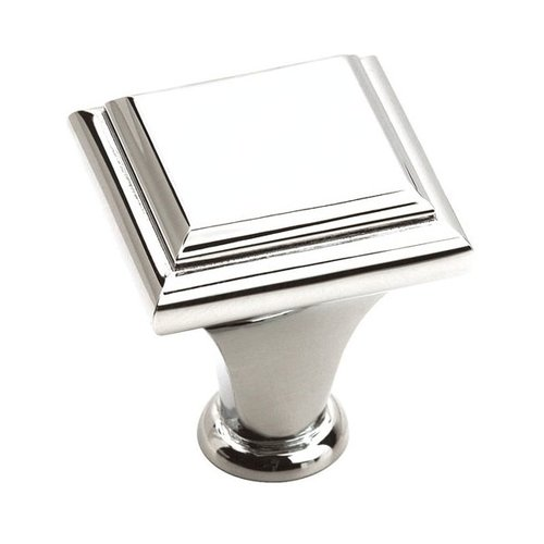 Amerock Manor 1 Inch Diameter Polished Chrome Cabinet Knob BP2613126