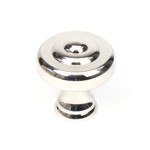 Century Hardware Yukon 1-1/2 Inch Diameter Polished Nickel Cabinet Knob 18128-14