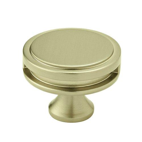 "Amerock Oberon Knob 1-3/4"" Dia Golden Champagne BP36604BBZ"