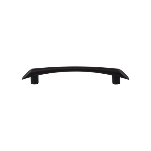 Barrington 5-1/16 Inch Center to Center Flat Black Cabinet Pull <small>(#TK783BLK)</small>