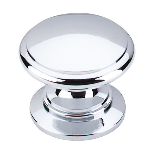 Top Knobs Somerset 1-1/4 Inch Diameter Polished Chrome Cabinet Knob M350