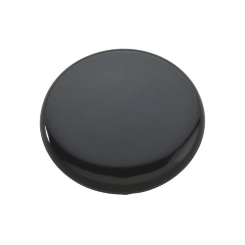 "Hickory Hardware Midway Knob 1-1/2"" Dia Black P818-BL"