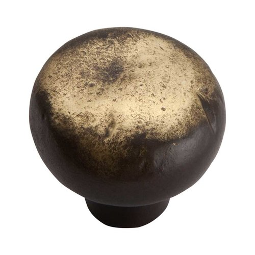 Atlas Homewares Distressed 1-3/8 Inch Diameter Antique Bronze Cabinet Knob 331-ABZ