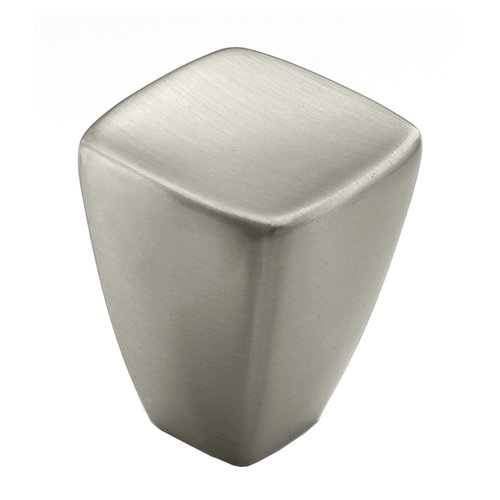 Creased Bow 7/8 Inch Diameter Satin Nickel Cabinet Knob <small>(#BP27018G10)</small>