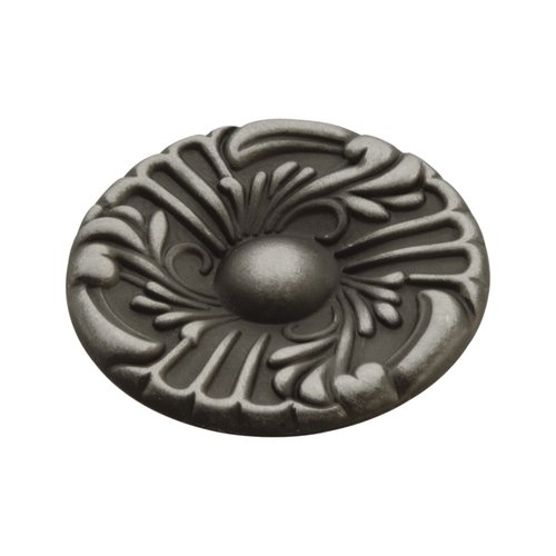 Hickory Hardware Cavalier 1-1/2 Inch Diameter Antique Pewter Cabinet Knob P119-AP