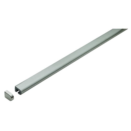 "Kessebohmer Backsplash Rail System 47-1/4"" Rail Grey 521.60.612"
