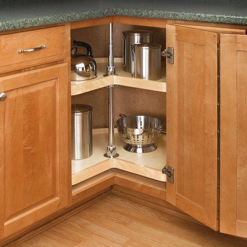 Rev-A-Shelf 4WLS 2 Shelf Kidney 32 inch Wood 4WLS472-32-52