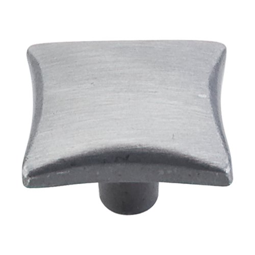 Top Knobs Chateau 1-1/4 Inch Diameter Pewter Light Cabinet Knob M253
