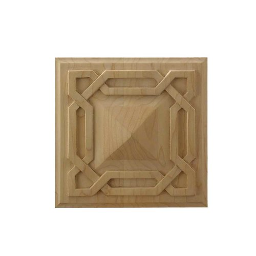 Brown Wood Deco Tile Unfinished Hard Maple 01902078HM1