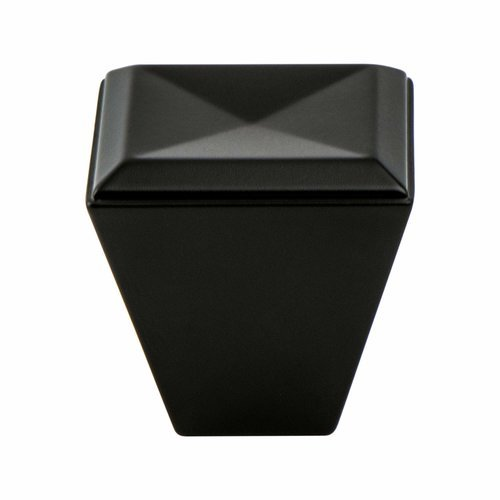 Berenson Connections 1-1/8 Inch Length Matte Black Cabinet Knob 4008-1055-P