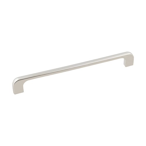 "Jeffrey Alexander Alvar Pull 7-9/16"" C/C Polished Nickel 264-192NI"