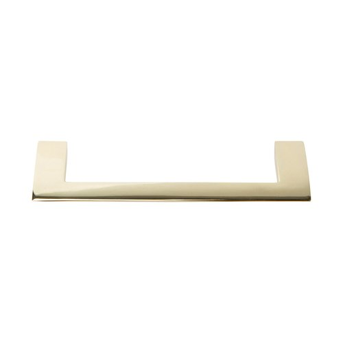 Atlas Homewares Angled Drop Pull 128MM Center to Center French Gold A906-FG