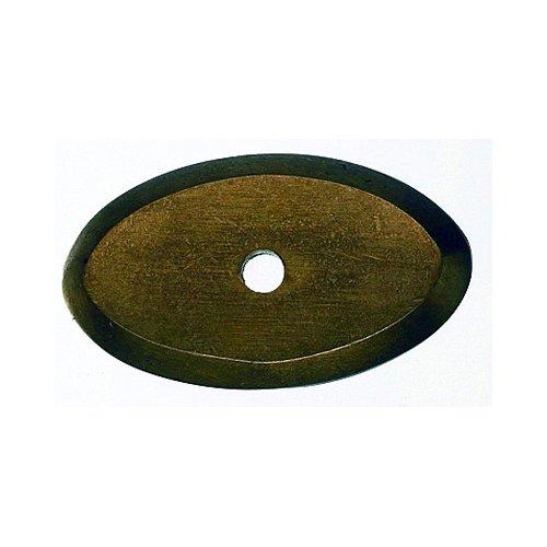 Top Knobs Aspen 1-1/2 Inch Length Light Bronze Back-plate M1436
