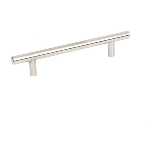 Stainless 5-1/16 Inch Center to Center Brushed Stainless Steel Cabinet Pull <small>(#40458-32D)</small>