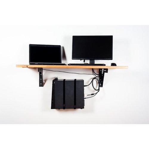 Federal Brace Workstation Mount 3 Support System - Flat Black 40460