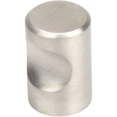 Century Hardware Stainless 3/4 Inch Diameter Brushed Stainless Steel Cabinet Knob 40501-32D