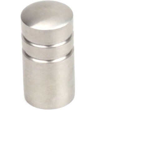 Century Hardware Stainless 5/8 Inch Diameter Brushed Stainless Steel Cabinet Knob 40511-32D