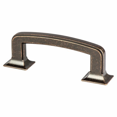 Berenson Hearthstone 3 Inch Center to Center Weathered Venetian Bronze Cabinet Pull 4067-1WVB-P