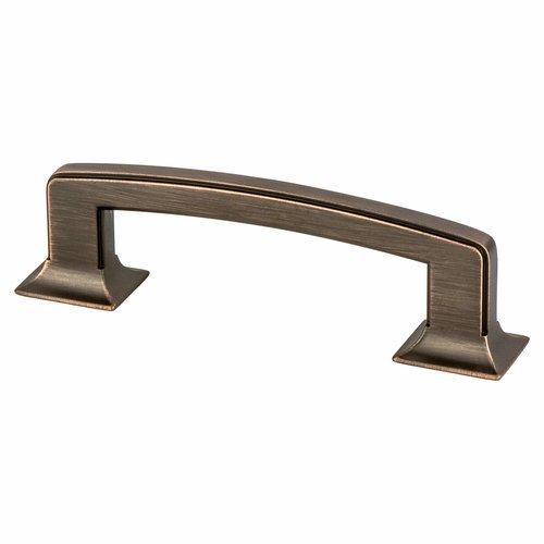 Berenson Hearthstone 3-3/4 Inch Center to Center Venetian Bronze Cabinet Pull 4069-10VB-P