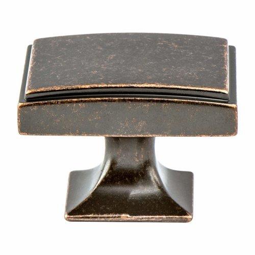 Berenson Hearthstone 1-9/16 Inch Diameter Weathered Venetian Bronze Cabinet Knob 4085-1WVB-P