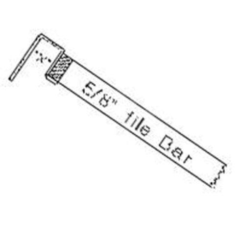 Aluminum File Bar 48 inch Long