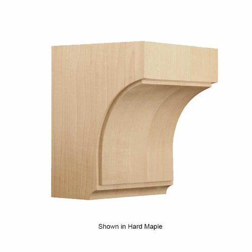 Brown Wood Medium Triad Corbel Unfinished Red Oak 01607006AK1