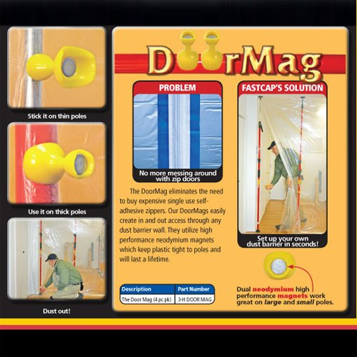Fastcap Door Mag For 3rd Hand 4/Pack 3-H DOOR MAG