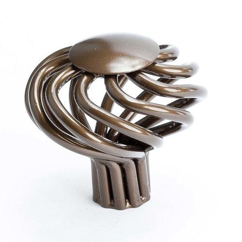Berenson Adagio 1-1/2 Inch Diameter Oil Rubbed Bronze Cabinet Knob 7873-2ORB-P