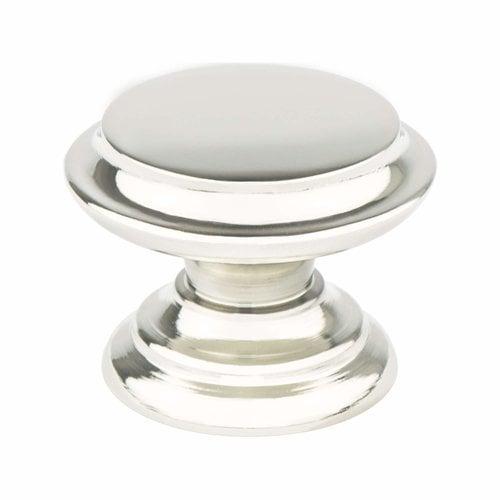 Berenson Designers Group 10 1-3/8 Inch Diameter Polished Nickel Cabinet Knob 4152-1014-P