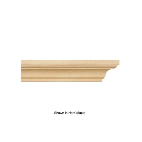 Brown Wood Simplicity Crown Moulding Unfinished Alder 01807003AL1