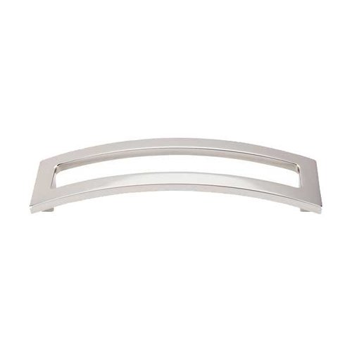 Top Knobs Sanctuary II 5 Inch Center to Center Polished Nickel Cabinet Pull TK247PN