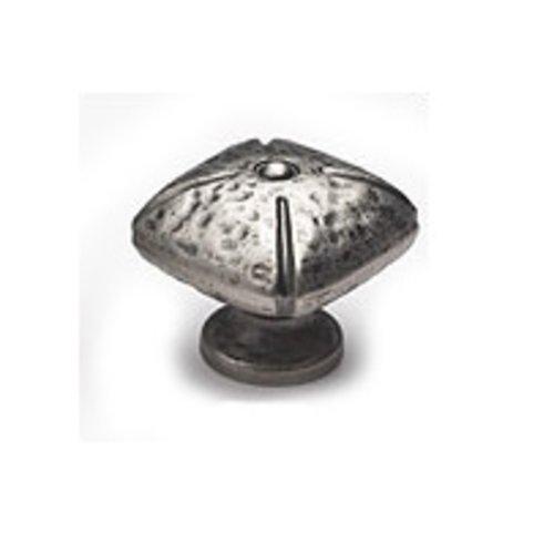 Schaub and Company Siena 1-1/2 Inch Diameter Vibra Nickel Cabinet Knob 251-VN