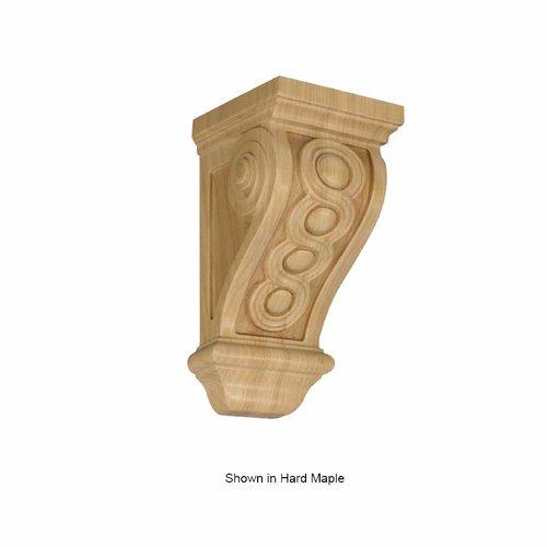 Brown Wood Small Bijou Corbel Unfinished Alder 01600535AL1