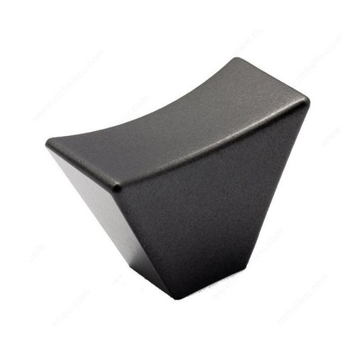 Richelieu Bridges 1-11/16 Inch Diameter Graphite Cabinet Knob 5187043905