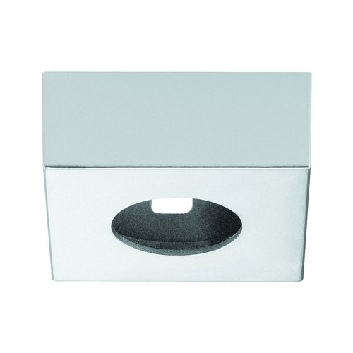 Hafele Loox 2040 Square Surface Mount Trim Ring Silver 833.72.144