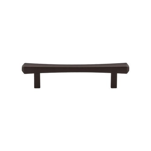 Top Knobs Serene 3-3/4 Inch Center to Center Oil Rubbed Bronze Cabinet Pull TK812ORB