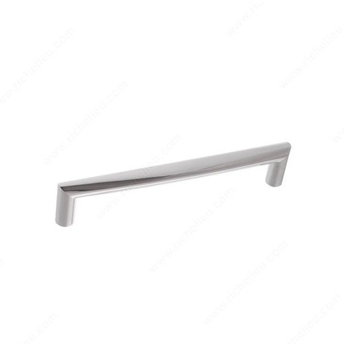 Richelieu Contempo 6-5/16 Inch Center to Center Chrome Cabinet Pull 21683160140