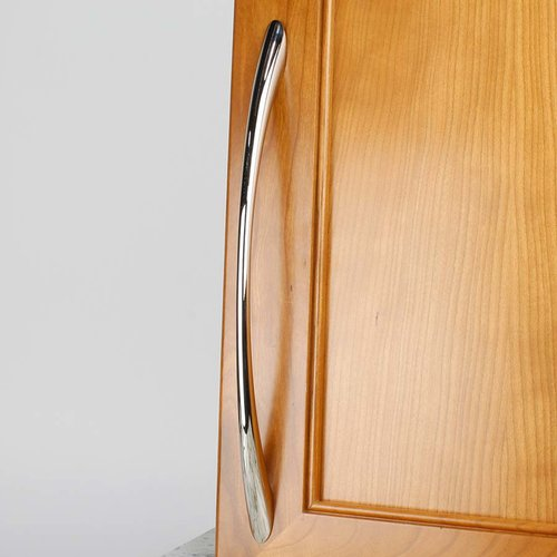 Century Hardware Metro 8-13/16 Inch Center to Center Polished Nickel Cabinet Pull 28169-14