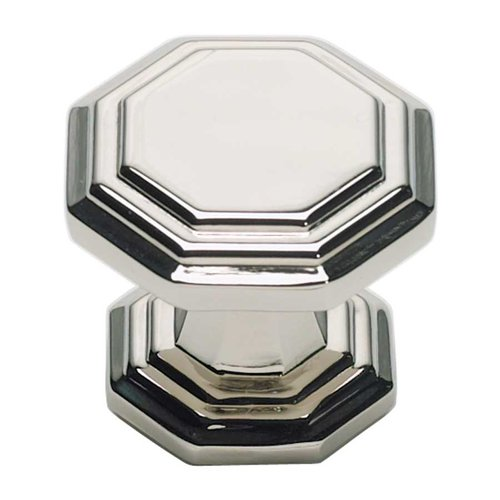 Atlas Homewares Dickinson 1-1/4 Inch Diameter Polished Nickel Cabinet Knob 319-PN