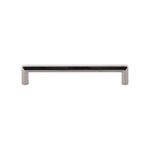 Serene 6-5/16 Inch Center to Center Polished Nickel Cabinet Pull <small>(#TK795PN)</small>