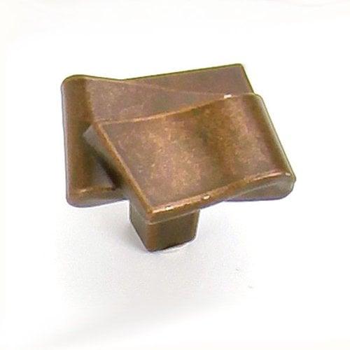 Laurey Hardware Diva 1-3/8 Inch Diameter Stonewashed Bronze Cabinet Knob 38476