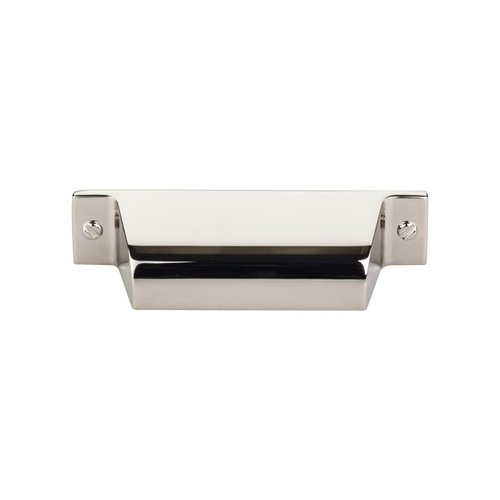 Top Knobs Barrington 2-3/4 Inch Center to Center Polished Nickel Cabinet Cup Pull TK772PN